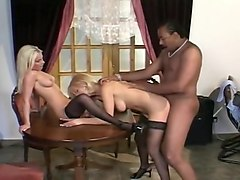 Black Guy Fucked By Two Blondes
