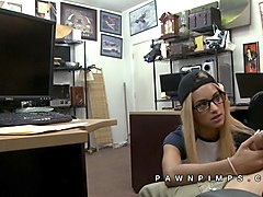 hidden camera films pawn shop buying sex