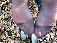 spunk on german mummy nylon soles