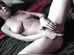 Huge Tits Brunette Granny Solo And Suck
