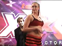 British slut Emma Butt gets judged on her performance