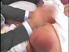Bride getting her cunt double fucked