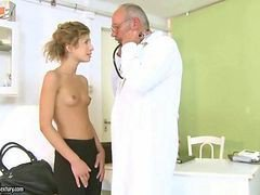 Lovely Teen Fucking Her Old Doctor