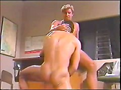 GAY Vintage 1988 2 Guys BB in an office