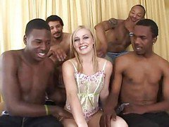 Black Attack Gangbang- Mary Anne