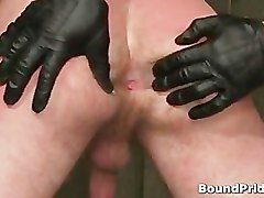 Tattooed hunk blindfolded and gets part3