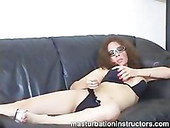 Jerk off teacher reveals her big tits from her tight bikini