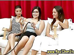 Cfnm ladies lesson on sex toy