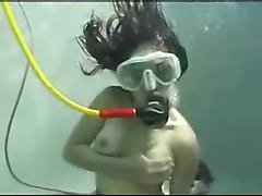spitting cum and scuba mask clearing