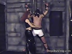 priscilla prolonged tickle torture of masked guy 2