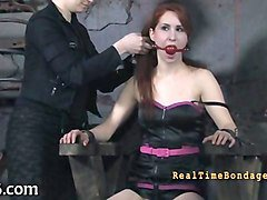 facial and pussy torture for babe