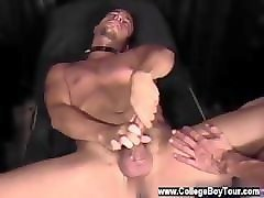 gay twink creampie eating doctor changed up the pulse of the wires and it