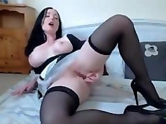 big boobs french maid camshow - 10minutesinparadise.com