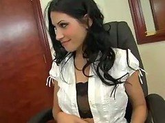 Rebecca Is A Horny Secretary Who Need Cock From..