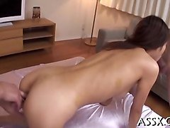 delightful japanese threesome sex