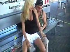 Crazy German Fucking His Bitch on a Train by snahbrandy