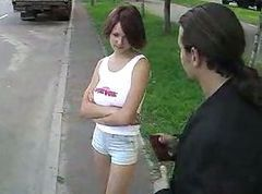 Russian Prostitute Banged By The Police Officer