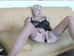 Hot Mature Lady In Lingerie