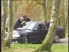 Dogging In French Forest