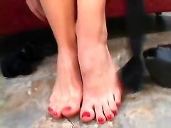 Riley Shy Foot Fetish