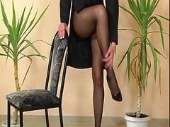 Another Classic Pantyhose Reel