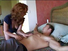 Red Head Anal Whore Gets A Rough Pounding