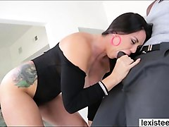 hot alison appreciates interracial sex