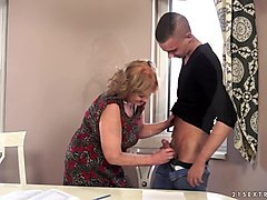 taboo stepsister blowing stepbros hard cock