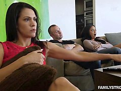 Ty Roderick & Savannah Thorne in TS Stepmother - TransSensual