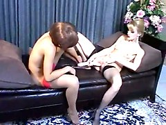 milf alexis blackmails lilith for a threesome sex with a guy