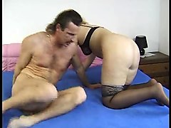 Sadistic fem dom whipping licking licking pins