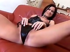 pallid short haired blonde gal got her pussy licked by naughty brunette (ffm)