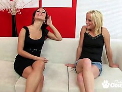 girlfriend jewels her 1st time lesbian experience