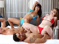Gina Valentina And Kobi Brian in Beach Bait And Switch Pt.2 - TeamSkeet