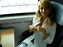 Milf In Train