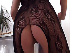 Stephanie In Lingerie Gets Banged Around