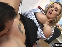tanya tate has always been very attentive to the needs of her boss