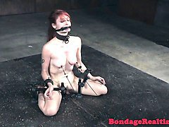 redhead sub whipped until red raw
