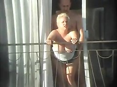 hidden sex on balcony