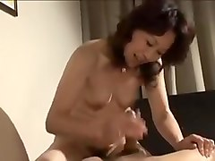 Japanese Mature Gets Creampied