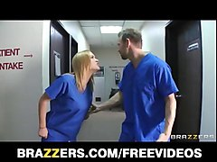 slutty blonde nurse anal fucked in a hospital