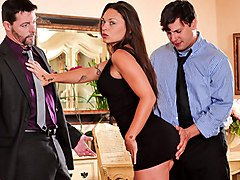 Olivia Wilder & Anthony Rosano & Jack Vegas in Seduced By The Boss's Wife #04, Scene #01