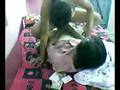 busty and adorable indian girl riding her man on webcam