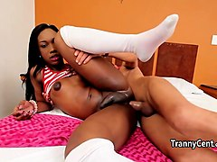ebony shemale love massive cock