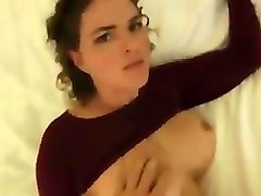 Caught masturbating with MOM
