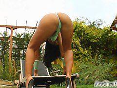 Ass Traffic Pro Kristina Bella's asshole is pounded she adores it