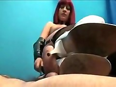 Mature redhed mistress femdom