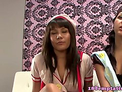 Amateur step###ter tugging in taboo trio