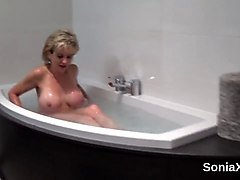 cheating uk milf lady sonia flaunts her large titties