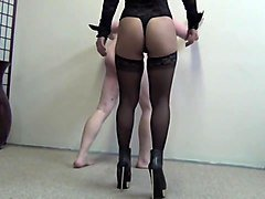 Asian Mistress Ayal Hard Ballbusting